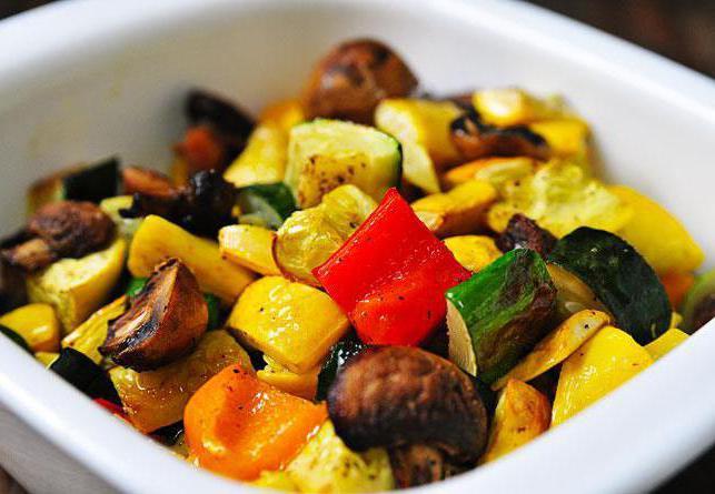 как приготовить соте из овощей в духовке