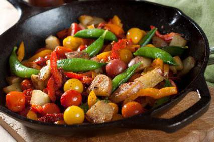 как правильно приготовить соте из овощей