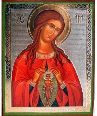 икона помощница в родах: