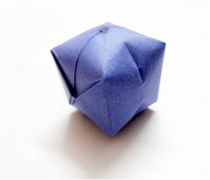 объемная геометрическая фигура из бумаги