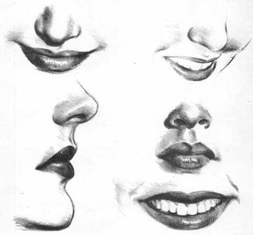 рисуем портрет девушки поэтапно карандашом