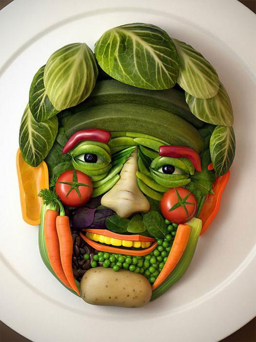 красивые поделки из овощей фото