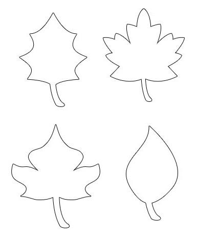 узор из осенних листьев