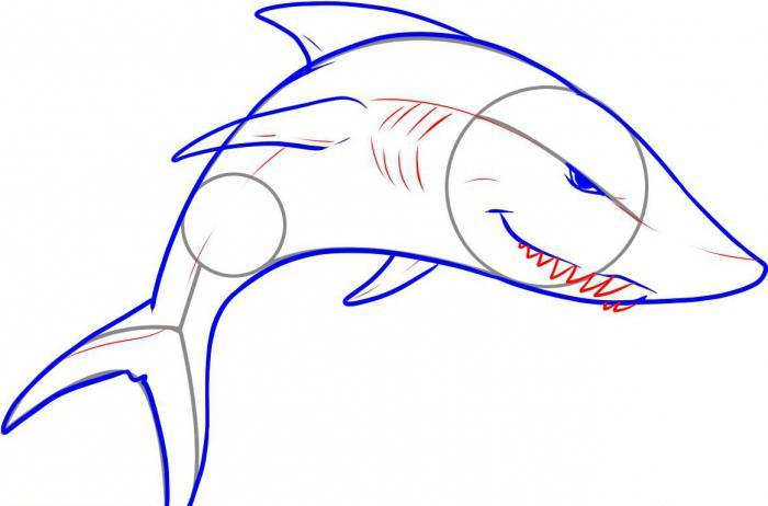как нарисовать подводный мир карандашом