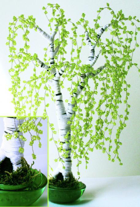 деревья из бисера схемы плетения