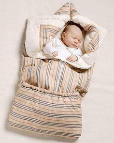 как сшить зимний конверт для новорожденного
