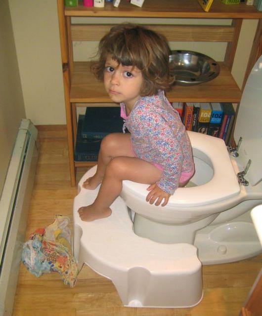 ребенок плохо ходит в туалет
