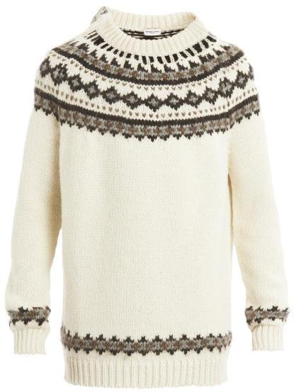 свитера связанные спицами