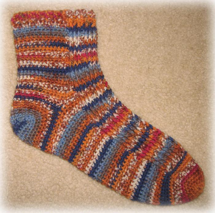 связать <em>связать</em> мужские носки крючком