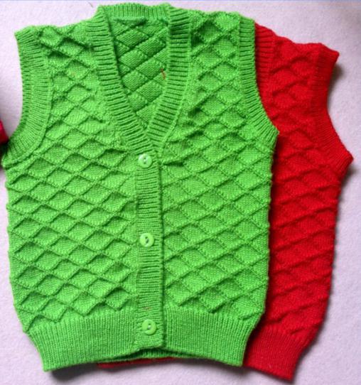 вязание безрукавки для девочки спицами