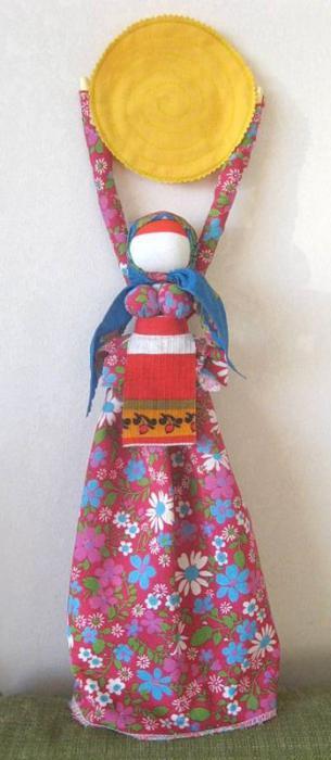кукла масленица поделка