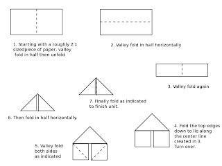 оригами из бумаги схемы вазы