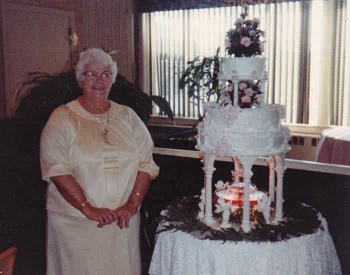 торт на 75 лет бабушке