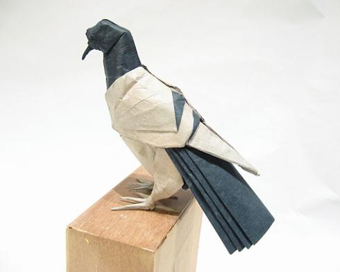 голубь мира поделка