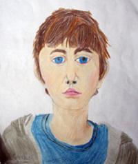 детские портреты мамы