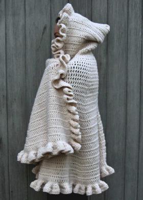 пальто связанное крючком схемы