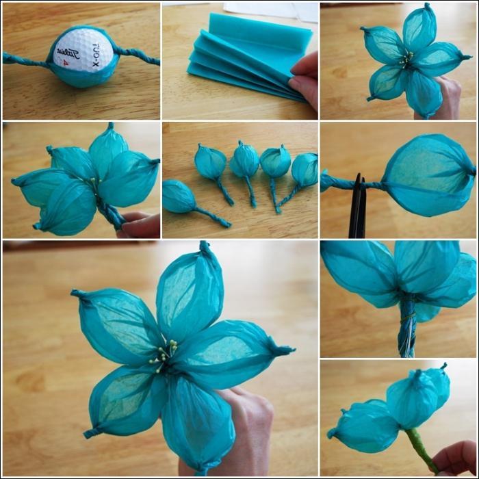 Сделать бумажные цветы своими руками