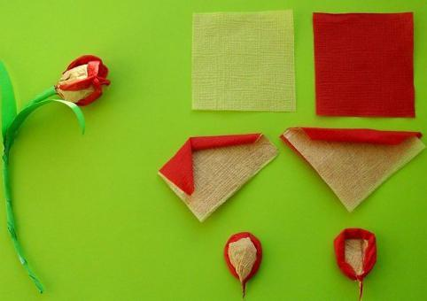 бумажные цветы своими руками из гофрированной бумаги