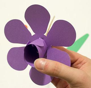 ], как сделать тюльпан из бумаги мастер класс
