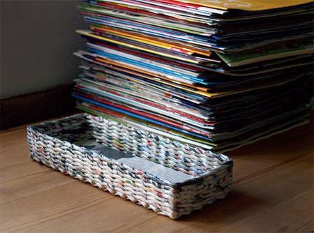 плетение из бумаги поделки