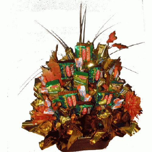 идеи подарков из конфет