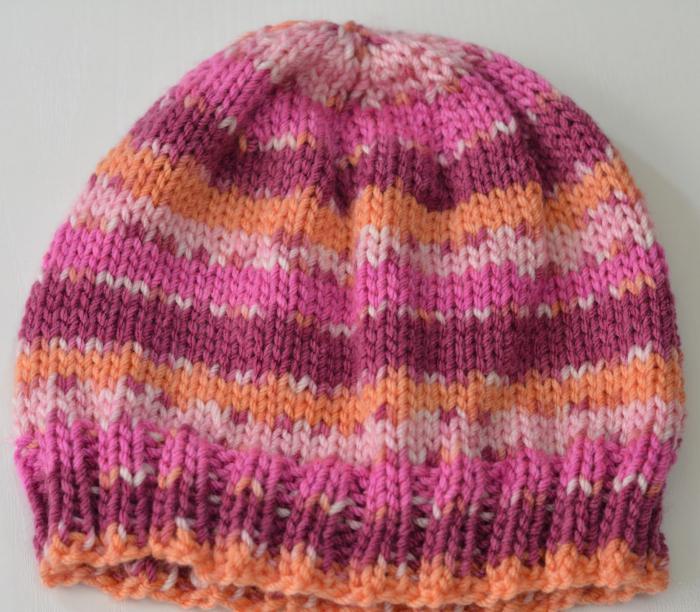 Вязаные шапочки спицами с описанием
