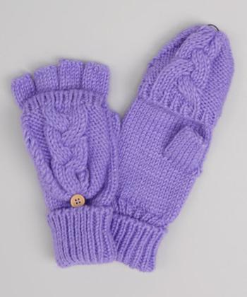 Вариант рукавиц для подростков