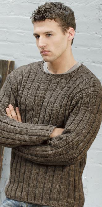 Связать мужской свитер спицами схемы