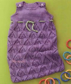 Вязание спицами для детей девочек