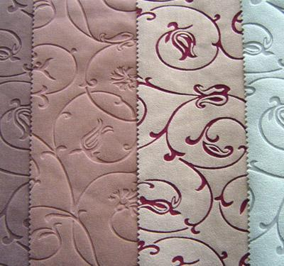 Ткань для мебели флок