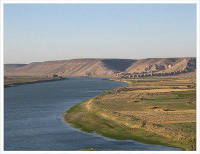река Тигр и Евфрат
