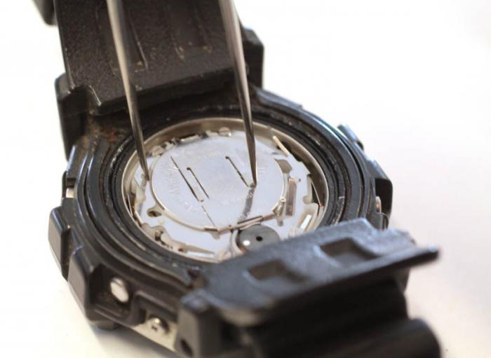 Замена батареек в наручных часах казань купить часы шопард бу