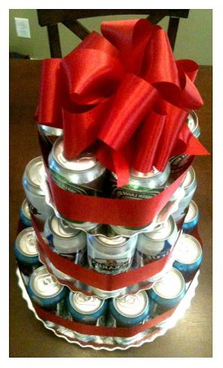 383946 Фото торт из банок пива – Торт из банок пива своими руками. Как сделать торт из пива для мужчины — фото пошагово