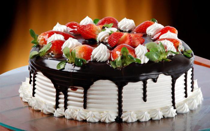 Недорогой торт