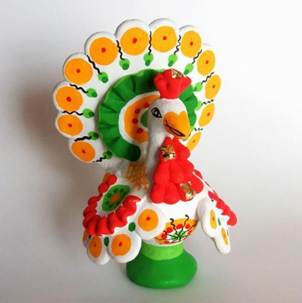 народная глиняная игрушка
