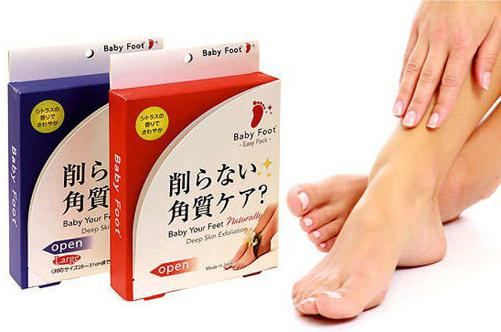 Японские носочки для педикюра baby foot отзывы