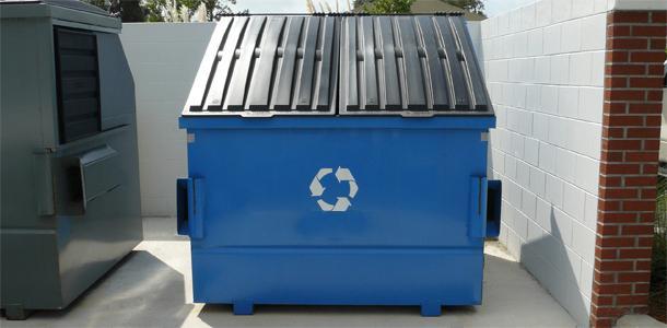 размеры мусорных контейнеров