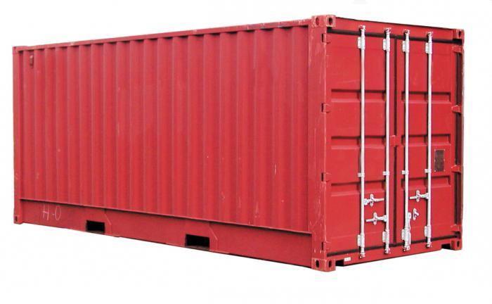 контейнер размеры