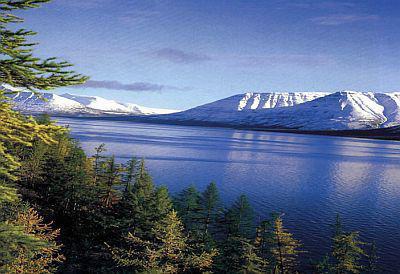 озеро лама на таймыре