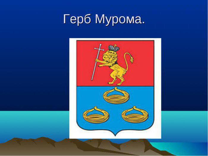 Года, муром картинки герб