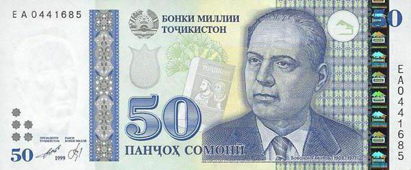 Валюта Таджикистана: описание и фото