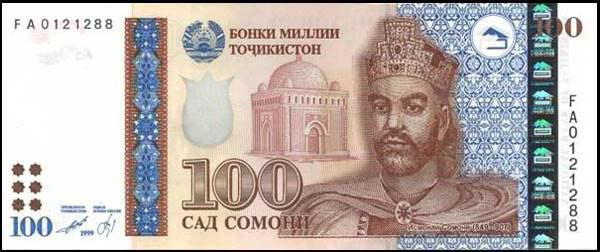 какая валюта в таджикистане