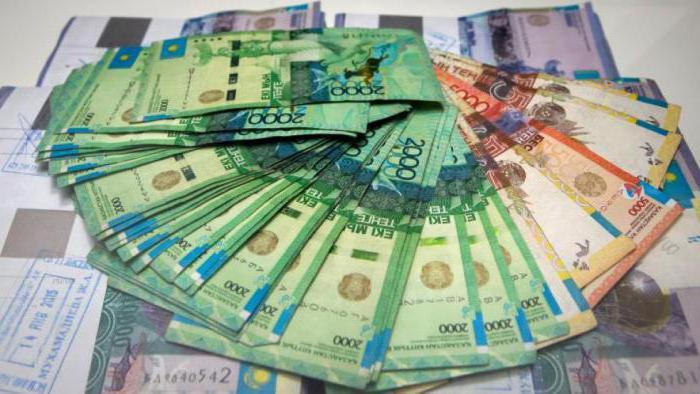 казахская валюта