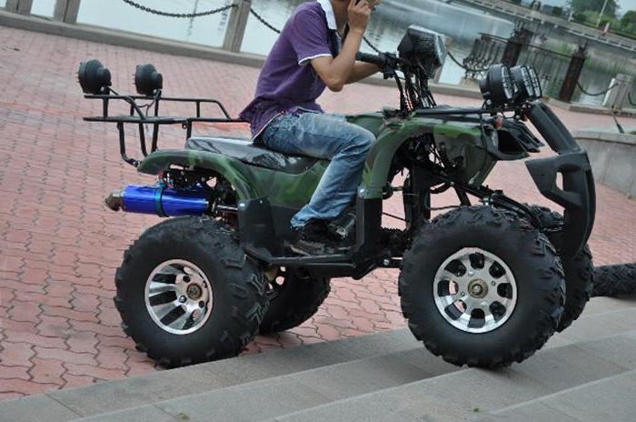 почему квадроциклам нельзя ездить по городу