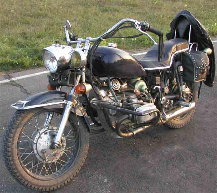 Тюнинг мотоцикла, урал своими руками