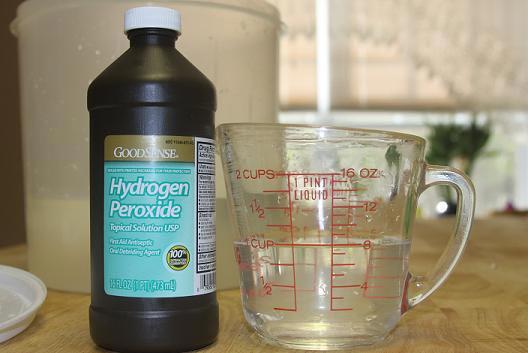 перекись водорода внутрь от паразитов