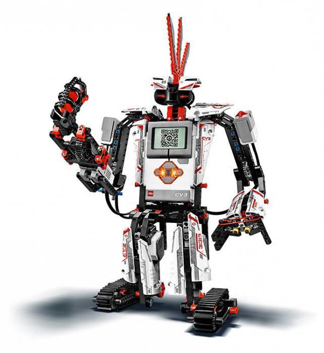 сделать робота из лего