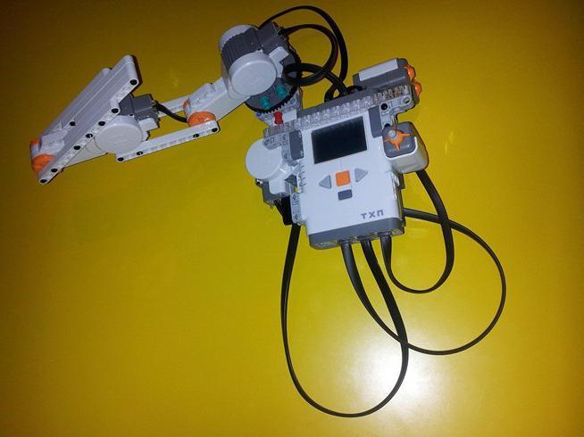 как сделать из лего робота