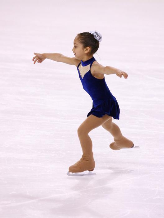 фото как сделать первые шаги на льду