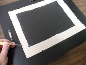 Рамка для вышивки из картона